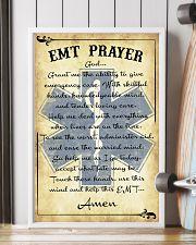 Paramedic EMT Prayer 11x17 Poster lifestyle-poster-4