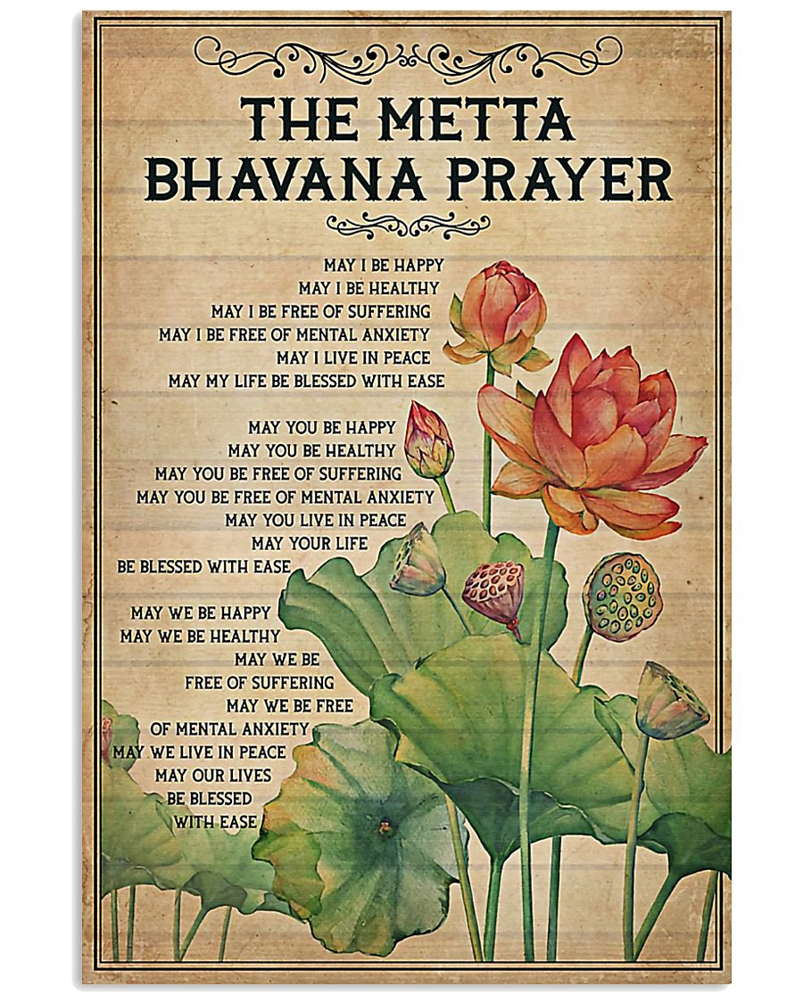 Yoga - The Metta Bhavana prayer 11x17 Poster