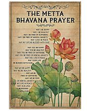 Yoga - The Metta Bhavana prayer 11x17 Poster front