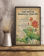 Yoga - The Metta Bhavana prayer 11x17 Poster lifestyle-poster-3