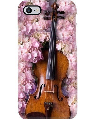 Viola with flowers