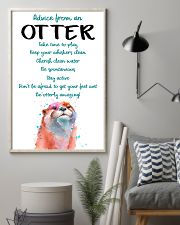 Otter Advice From An Otter 24x36 Poster lifestyle-poster-1