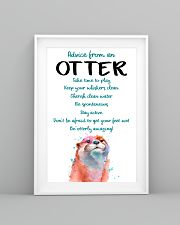 Otter Advice From An Otter 24x36 Poster lifestyle-poster-5