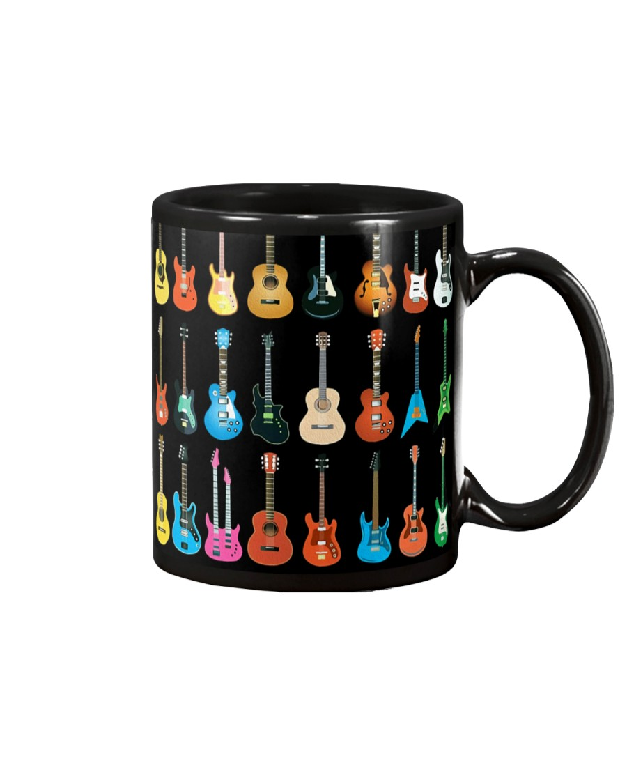 Different Types Guitar Mug