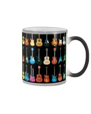 Different Types Guitar Color Changing Mug tile