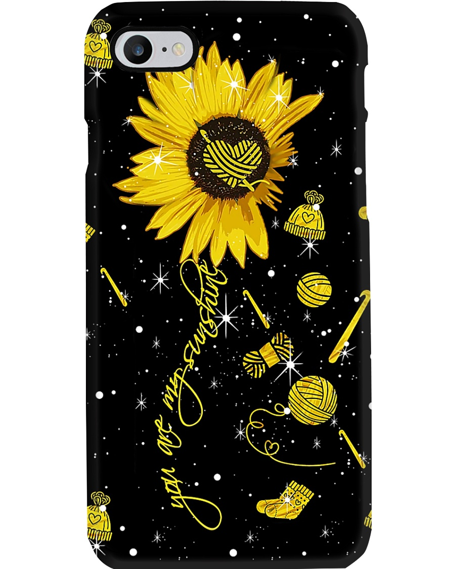 You Are My Sunshine Sewing Phone Case