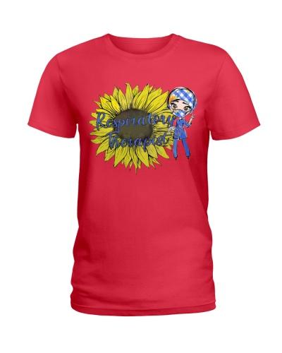 Respiratory Therapist And Sunflower