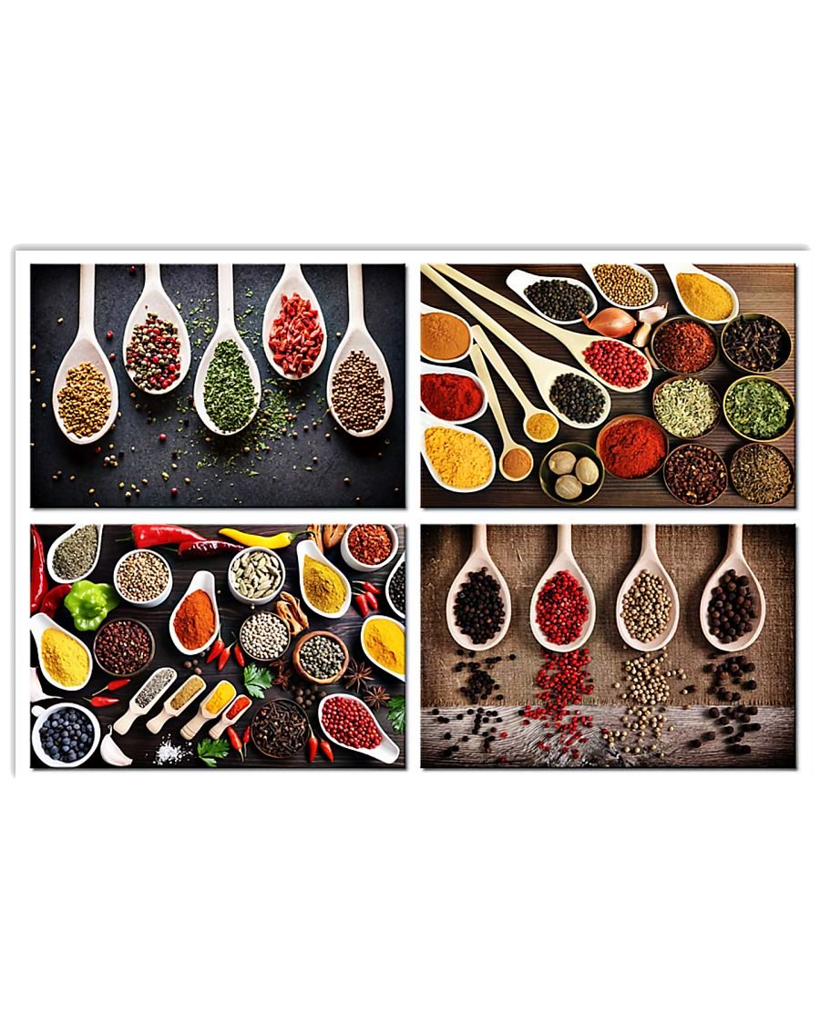 Chef Spices 17x11 Poster