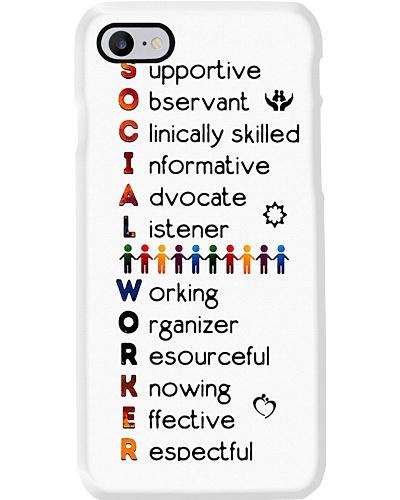 Social Worker Wording