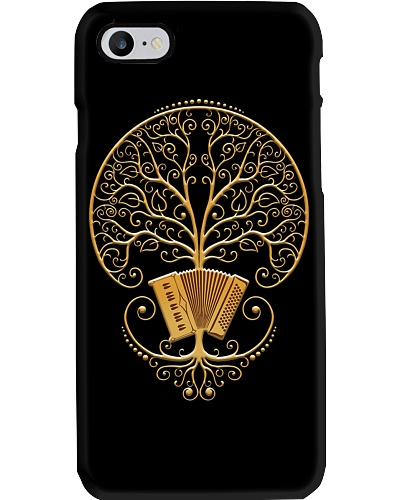 Golden Accordion Tree Phonecase