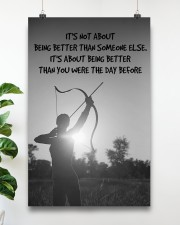 Archer Being Better Than You Were The Day Before 11x17 Poster aos-poster-portrait-11x17-lifestyle-19