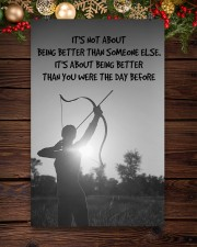 Archer Being Better Than You Were The Day Before 11x17 Poster aos-poster-portrait-11x17-lifestyle-22