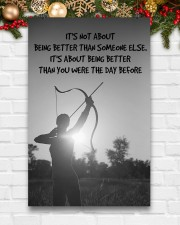 Archer Being Better Than You Were The Day Before 11x17 Poster aos-poster-portrait-11x17-lifestyle-23