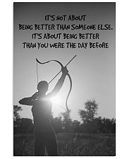 Archer Being Better Than You Were The Day Before 11x17 Poster front