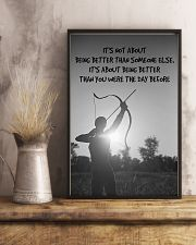 Archer Being Better Than You Were The Day Before 11x17 Poster lifestyle-poster-3