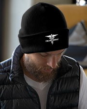 Phlebotomist - Unique Knit beanie Knit Beanie garment-embroidery-beanie-lifestyle-06