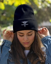 Phlebotomist - Unique Knit beanie Knit Beanie garment-embroidery-beanie-lifestyle-07
