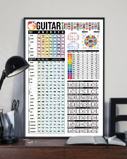 Guitar Color Chord Chart 11x17 Poster lifestyle-poster-2