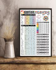 Guitar Color Chord Chart 11x17 Poster lifestyle-poster-3