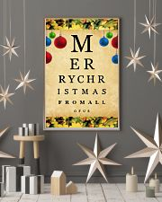Optometrist Merry Christmas 11x17 Poster lifestyle-holiday-poster-1
