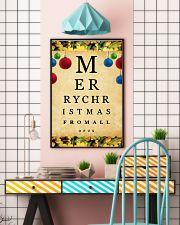 Optometrist Merry Christmas 11x17 Poster lifestyle-poster-6