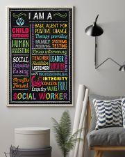 I am a Social Worker  11x17 Poster lifestyle-poster-1