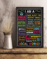 I am a Social Worker  11x17 Poster lifestyle-poster-3