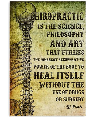 Chiropractic Is The Science Philosophy And Art