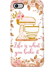 Flowery Baking Life Is What You Bake It Phone Case i-phone-7-case