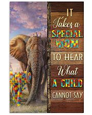 Autism Special Mom Hears What A Child Cannot Say 11x17 Poster front