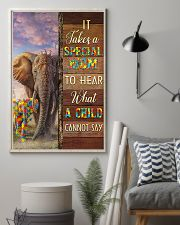 Autism Special Mom Hears What A Child Cannot Say 11x17 Poster lifestyle-poster-1