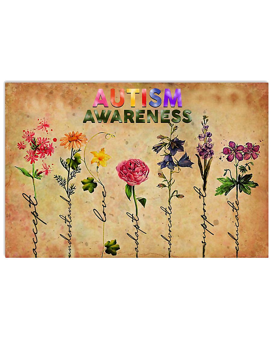 Autism Awareness  36x24 Poster
