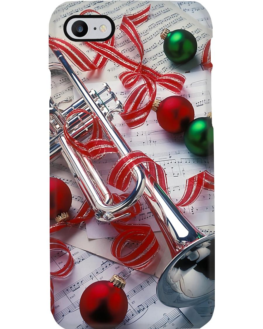 Trumpeter Sliver Trumpet  Phone Case
