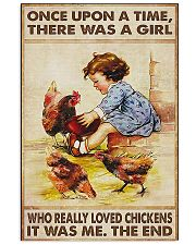 Farmer A Girl Who Really Loved Chickens 11x17 Poster front