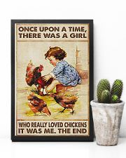 Farmer A Girl Who Really Loved Chickens 11x17 Poster lifestyle-poster-8