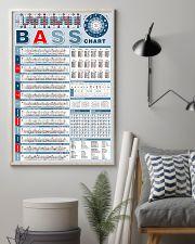 Bass Note Chart Bass Guitar 11x17 Poster lifestyle-poster-1