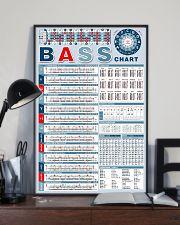 Bass Note Chart Bass Guitar 11x17 Poster lifestyle-poster-2