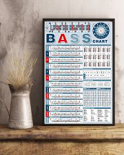 Bass Note Chart Bass Guitar 11x17 Poster lifestyle-poster-3