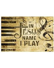 Piano In Jesus Name I Play 36x24 Poster front