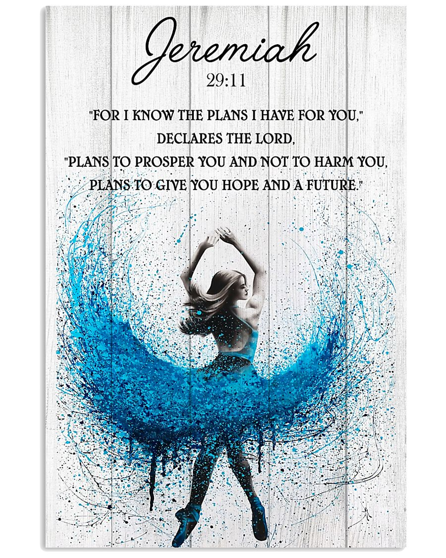 Ballet The Plans To Give You Hope And A Future 11x17 Poster