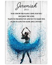 Ballet The Plans To Give You Hope And A Future 11x17 Poster front