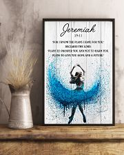 Ballet The Plans To Give You Hope And A Future 11x17 Poster lifestyle-poster-3