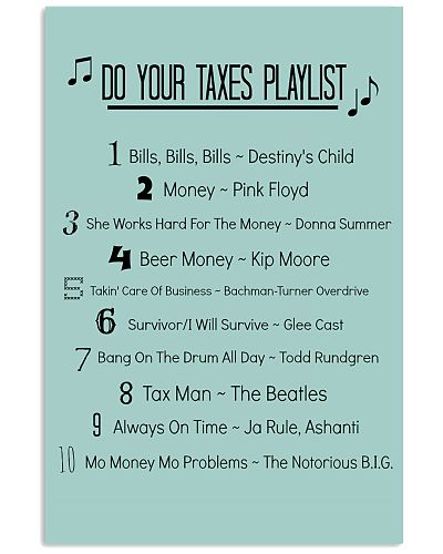 Accountant - Do your taxes playlist