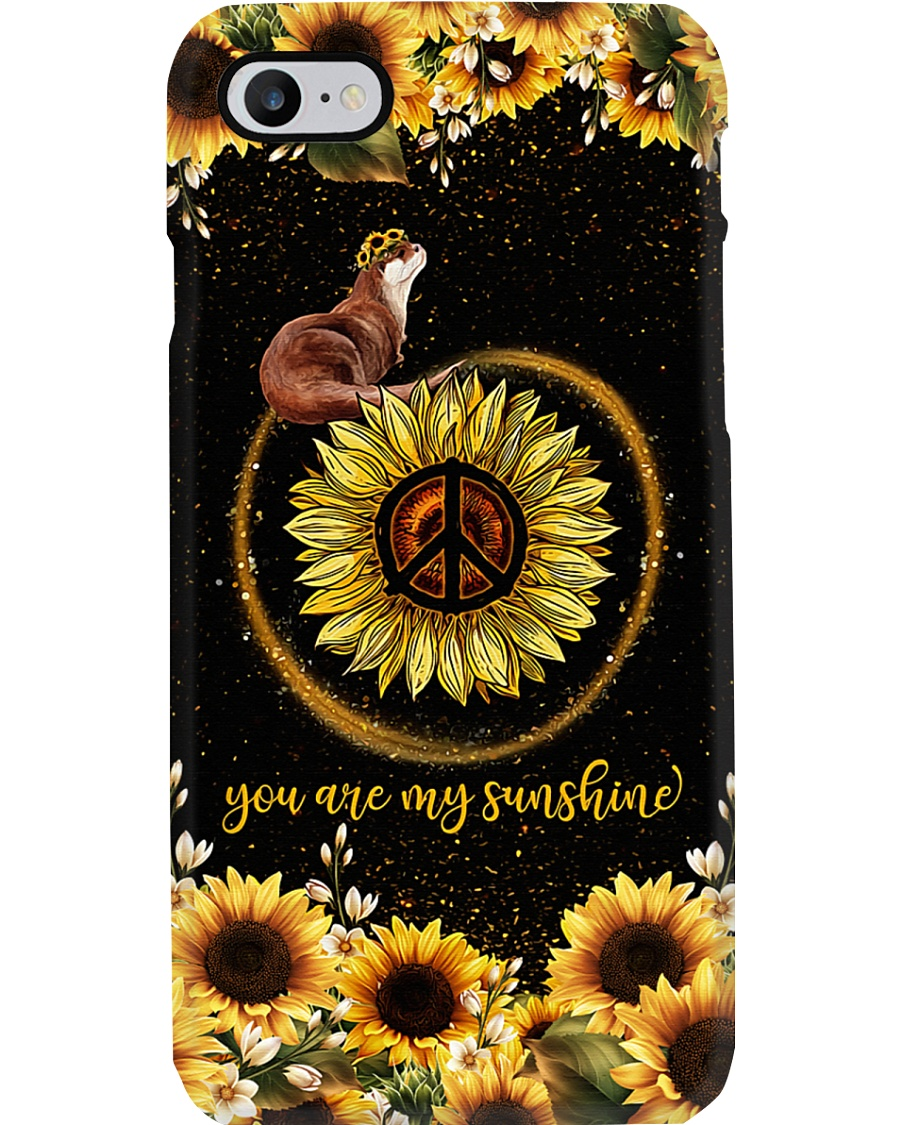 Otter And Sunflower Phone Case