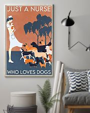 Just A Nurse Who Loves Dogs 11x17 Poster lifestyle-poster-1