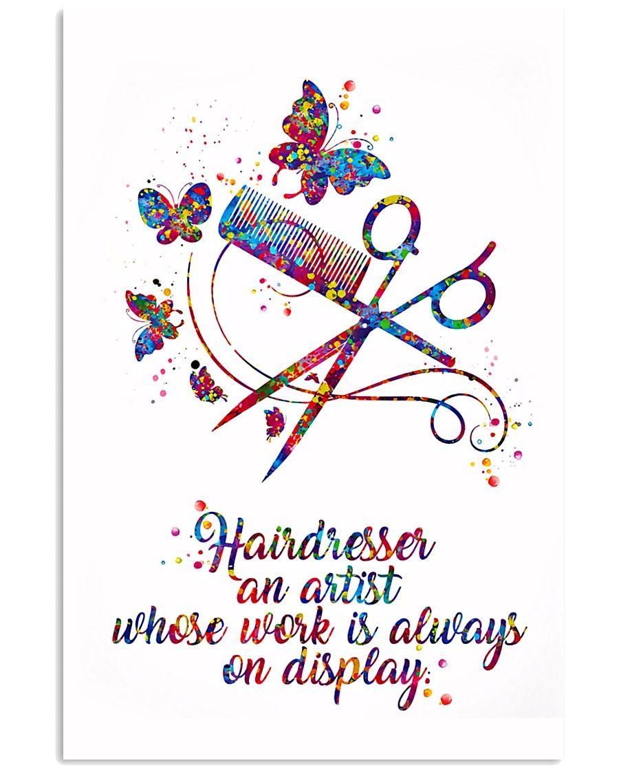 Hairdresser An Artist 11x17 Poster