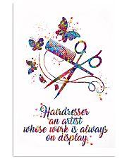 Hairdresser An Artist 11x17 Poster front
