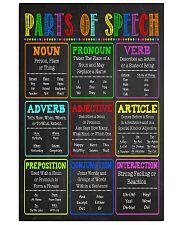 Parts Of Speech SLP  11x17 Poster front