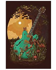 Guitar 6 Strings Under Sunset  11x17 Poster front