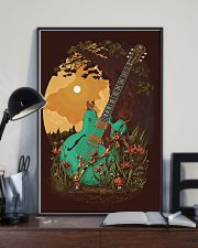 Guitar 6 Strings Under Sunset  11x17 Poster lifestyle-poster-2